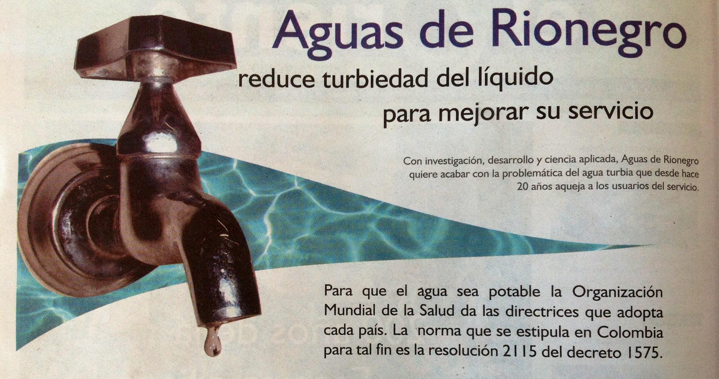 Aguas de Rionegro