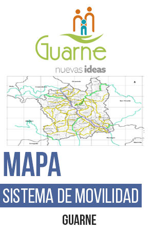 Guarne CR_034 Mapa Sistema de movilidad